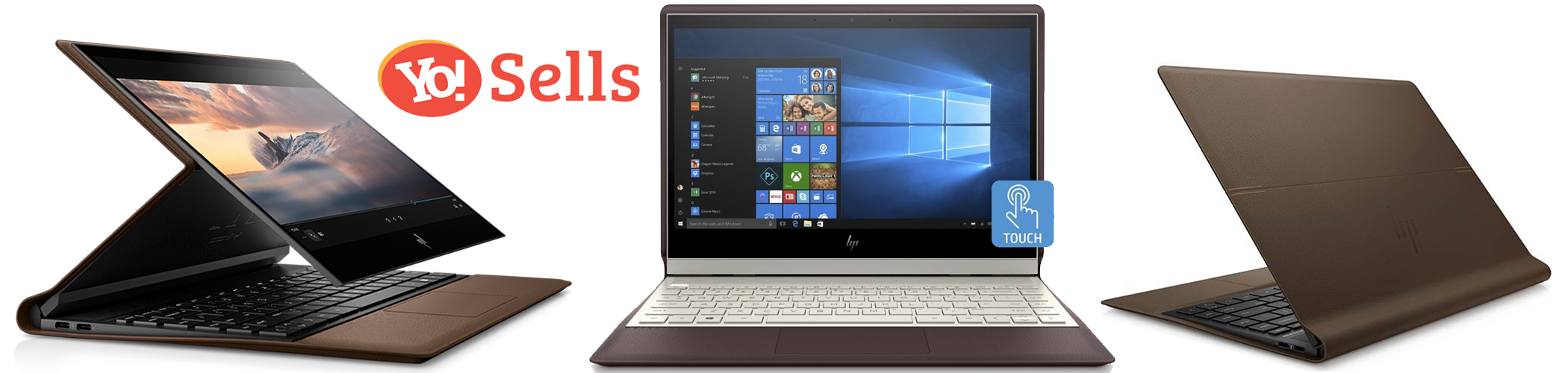 HP Spectre Folio The best Laptops on Amazon (Top 10)